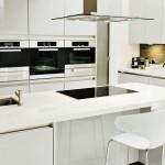 Модерна кухня в бяло (6)
