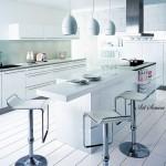 Модерна кухня в бяло (8)