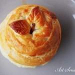 Печена канелена ябълка в тесто