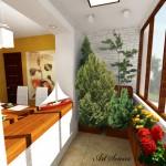 идеи за малка тераса и балкон