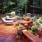Декинг или платформи от дърво