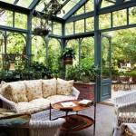 Зимната градина - райско кътче в дома