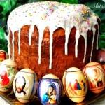 Козунак Кулич - сладък руски великденски хляб