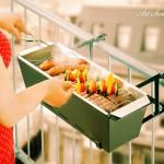 Мини барбекю за балкона