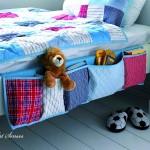 Органайзър с джобове за легло