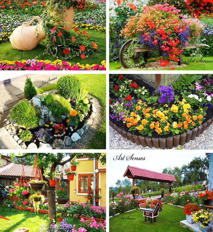 Идеи за красива градинска декорация