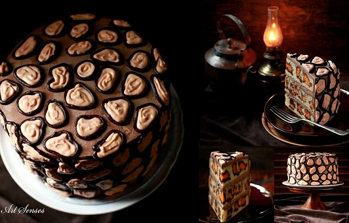 Леопардова торта