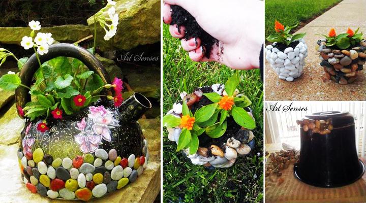 Две идеи за градинска декорация