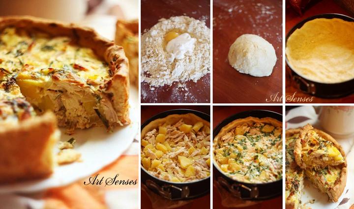 Нестандартна рецепта за пиле с картофи