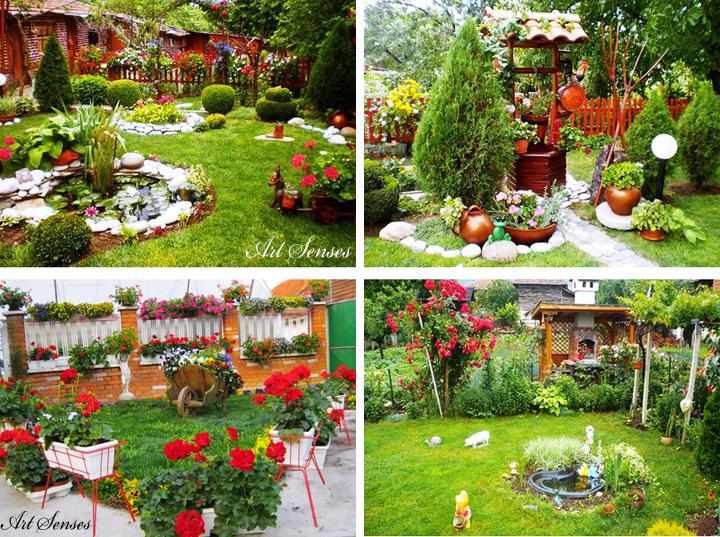 Идеи за градината - декорации и украса