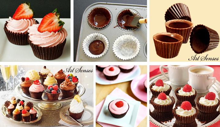 Идея за шоколадови купички