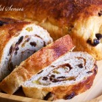 Американски сладък хляб с канела и стафиди