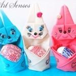 Направи си Великденски заек от салфетки