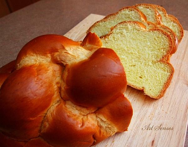 Традиционен еврейски сладък хляб Хала