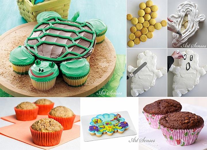 Лесна и вкусна торта от кексчета