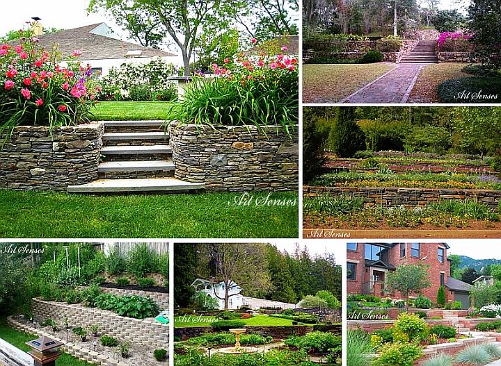 Терасирани градини