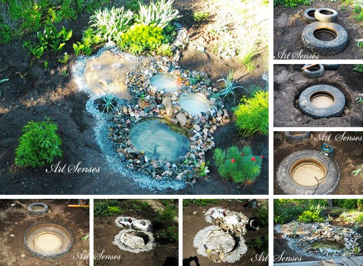 Декоративни езера в градината
