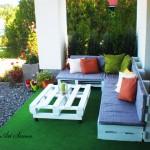 Идеи с палети за тераса, балкон и веранда
