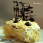 Лесна бисквитена торта с банан