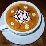 Методи за рисунки на кафе - Лате арт