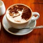 Техниката Лате арт или изкуство върху кафе
