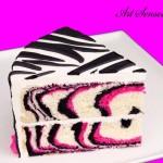 Торта Розова зебра