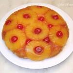 Торта с ананас