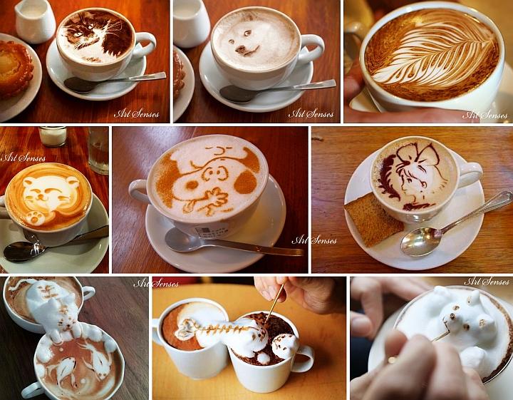 """""""Лате арт"""" или изкуство върху кафе"""