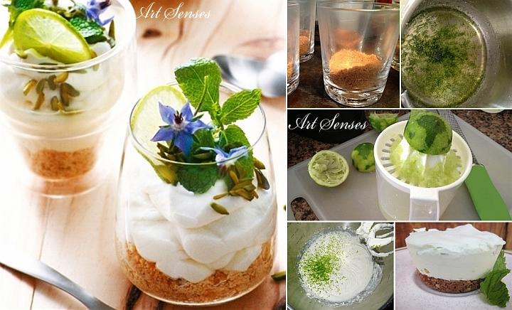 Прекрасен летен кубински десерт - Леден Мохито Чийзкейк