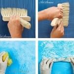 Техники за артистични декорации на стени