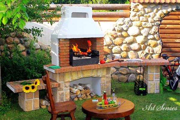 Идеи за барбекю и пещ в градината