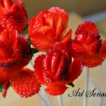 Рози от ягоди