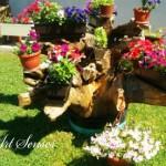Оригинална градинска декорация