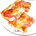 Бърза, лесна и вкусна пица от хляб