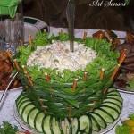 Кошничка за салата от лук и солети