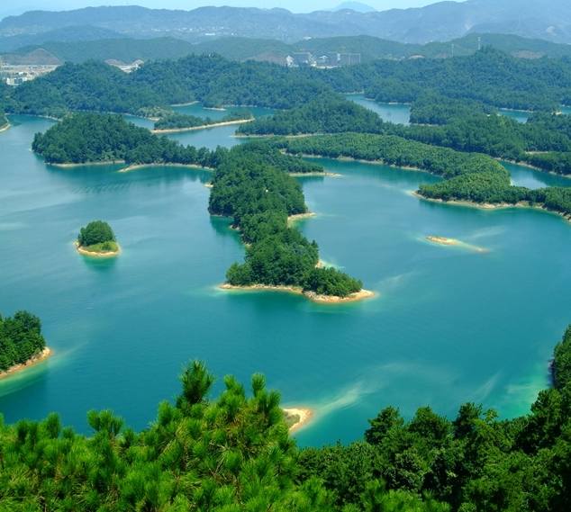 Езерото на хилядата острова