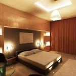 Окачени тавани в спалнята (10)