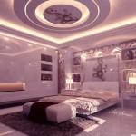 Окачени тавани в спалнята (12)
