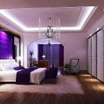 Окачени тавани в спалнята (14)