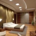 Окачени тавани в спалнята (15)