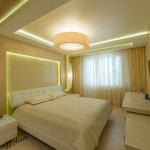 Окачени тавани в спалнята (16)