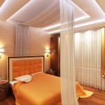 Окачени тавани в спалнята (17)
