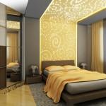 Окачени тавани в спалнята (19)