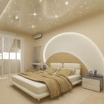 Окачени тавани в спалнята (2)