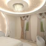 Окачени тавани в спалнята (20)