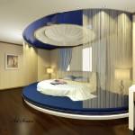 Окачени тавани в спалнята (21)