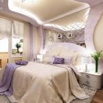 Окачени тавани в спалнята (4)