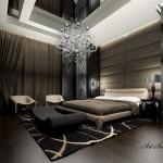 Окачени тавани в спалнята (5)