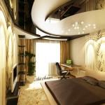 Окачени тавани в спалнята (6)