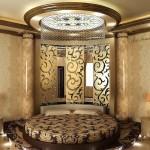 Окачени тавани в спалнята (7)